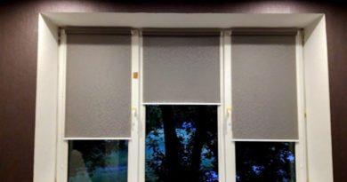 Рулонные шторы открытого типа где купить