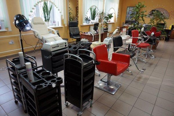 Тележка парикмахерская