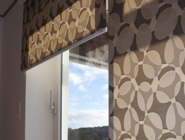 Рулонные шторы открытого типа 1