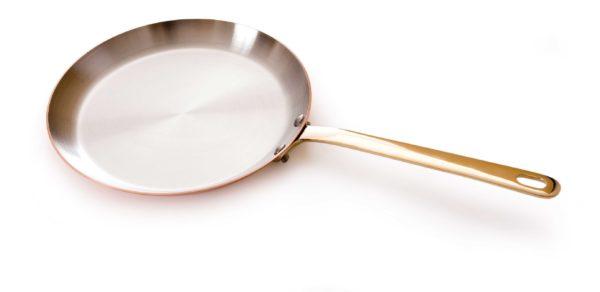 Медная сковородка