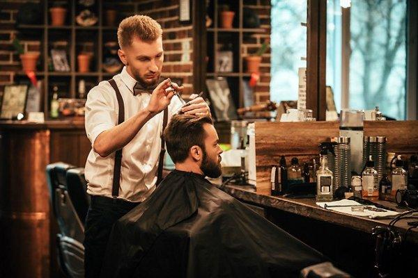 Барбершоп haft услуги мужского парикмахера