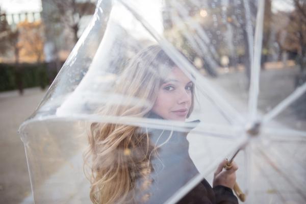 Прозрачные зонты